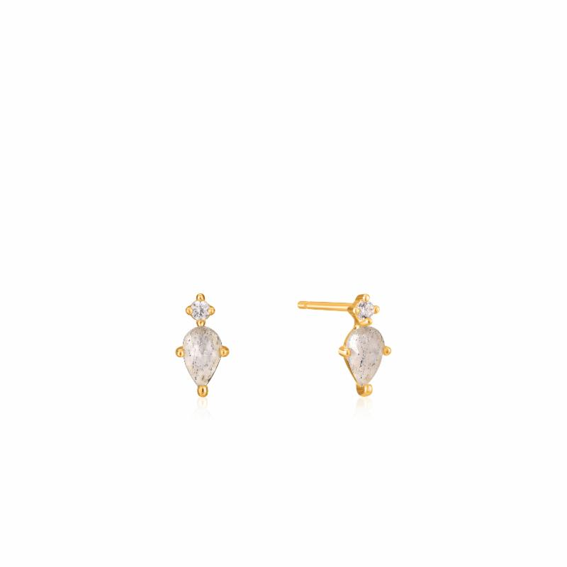MIDNIGHT STUD EARRINGS