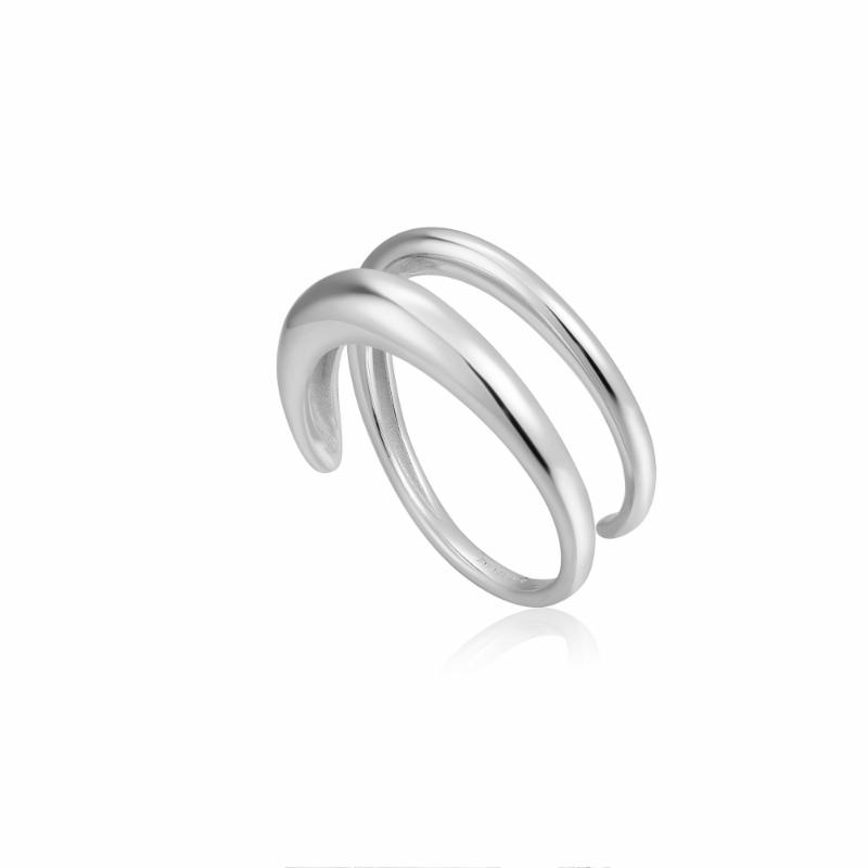 LUXE TWIST ADJUSTABLE RING