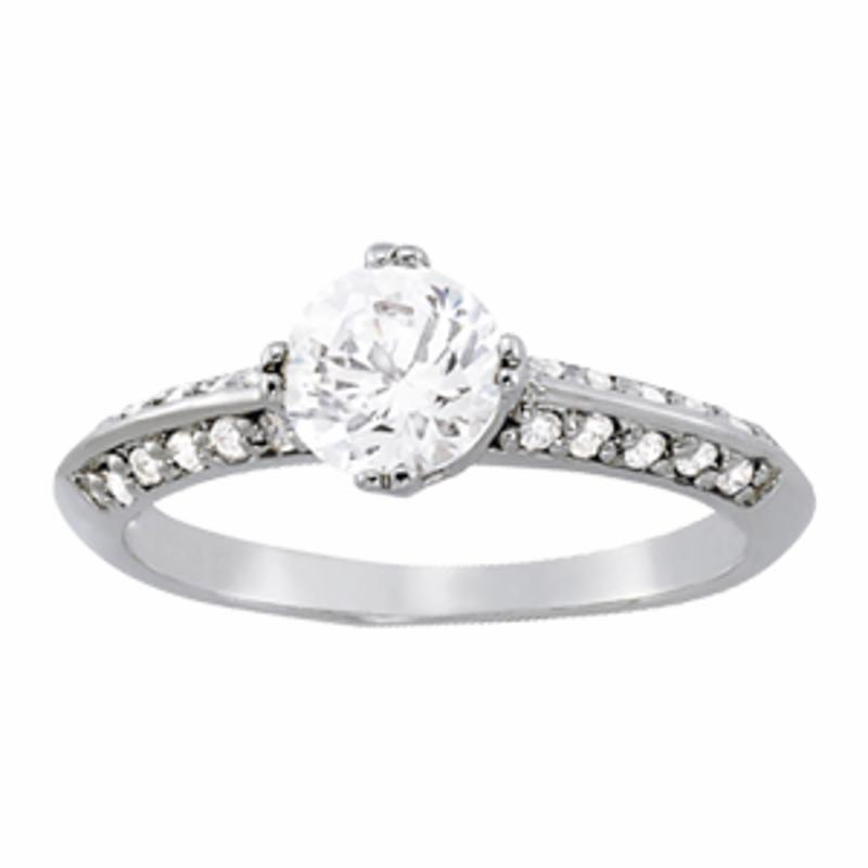 SEMI MOUNT ENGAGEMENT RING PAVE - 8D1R82782