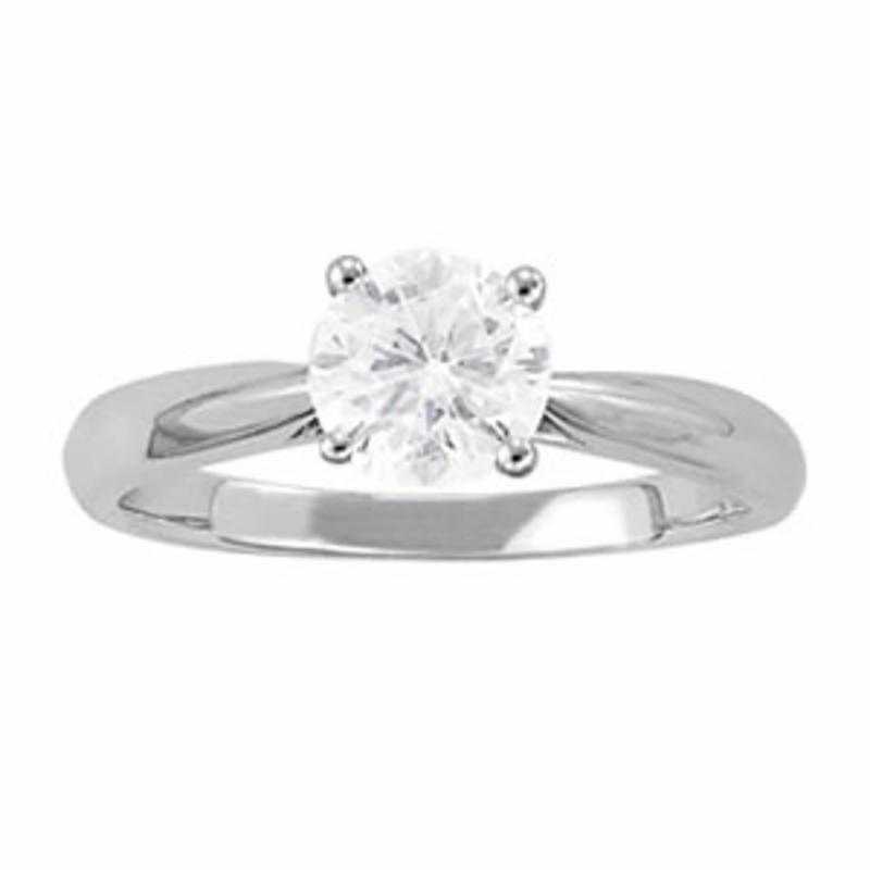 SEMI MOUNT ENGAGEMENT RING SOLITAIRES ROUND - 8D1R84355