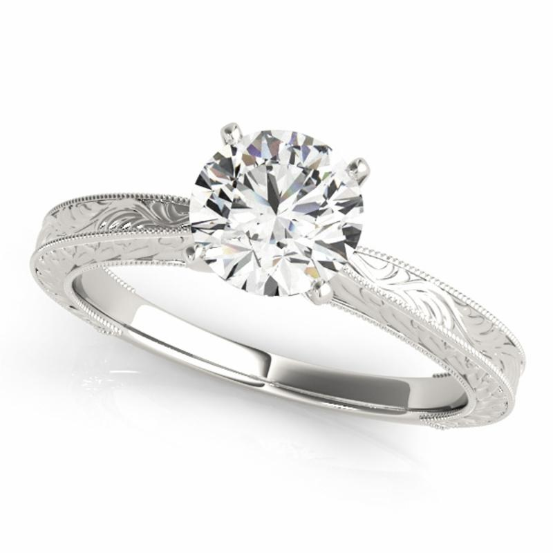 SEMI MOUNT ENGAGEMENT RING SOLITAIRES ANY SHA - 8D1R84731